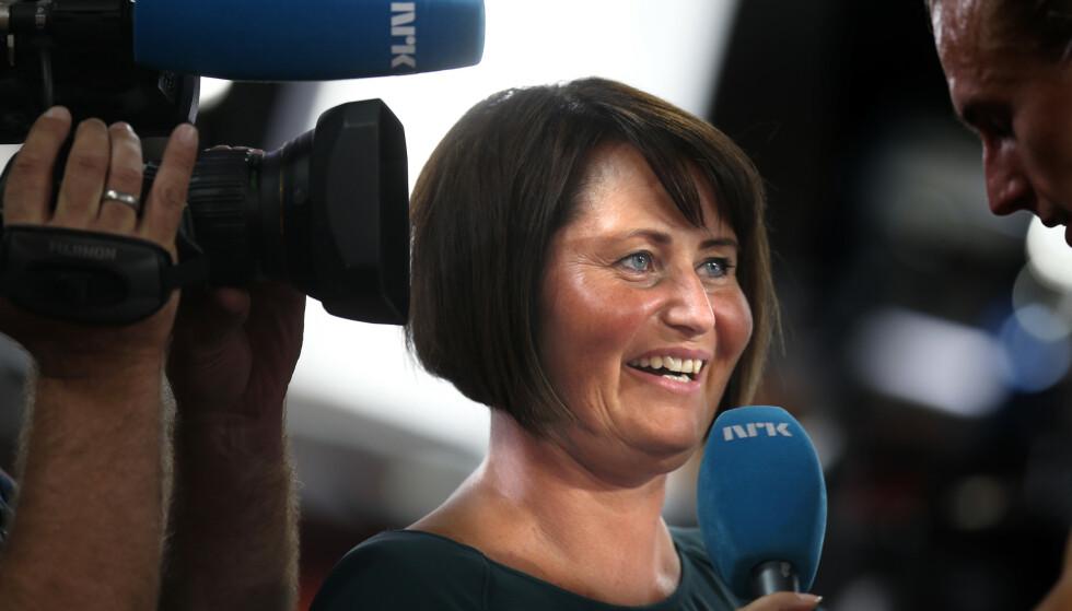 INGEN SJAKK: Line Andersen blir ikke å se på NRKs sjakksendinger i jula. Foto: Vidar Ruud / NTB scanpix