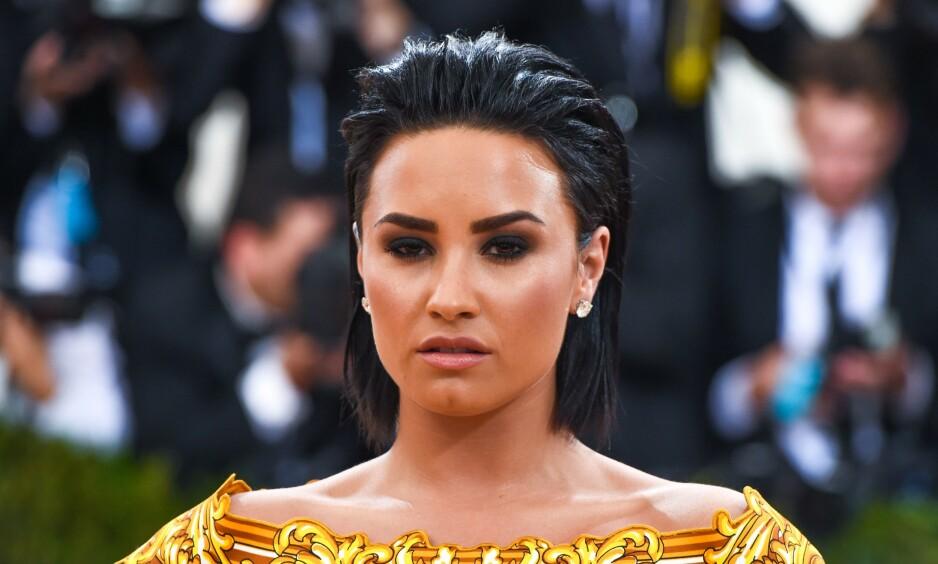 SINGEL IGJEN: Bare en måned etter at Demi Lovato delte nyheten om at hun hadde en ny mann i livet sitt, har forholdet tatt slutt. Foto: NTB Scanpix