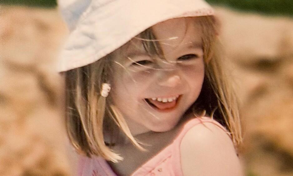 FORSVANT: I 2007 forsvant Madeleine McCann på familieferie i Portugal, og har blitt en av de mest omtalte forsvinningssakene i Europa. Foto: REX