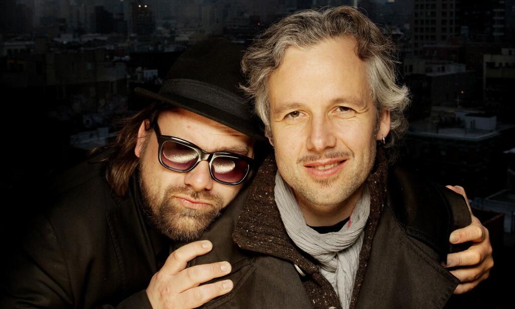 2010: Ari Behn og Per Heimly i New York. Foto: Agnete Brun / Dagbladet