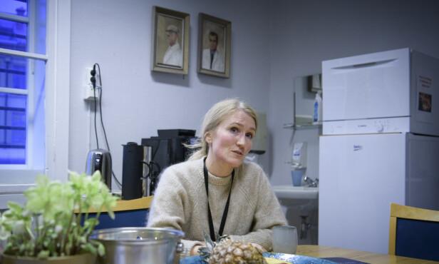 - MER ISOLASJON: Psykolog Thale Kristine Bostad er enhetsleder ved Oslo universitetssykehus sin psykiatriske politiklinikk i fengselet. Foto: Lars Eivind Bones