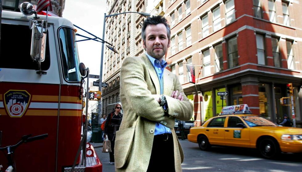 DØD: Første juledag gikk Ari Behn bort. Her er han avbildet i New York i 2006. Foto: Kristine Nyborg / Dagbladet