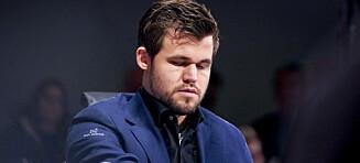 Carlsen-remis. Krise for Tari