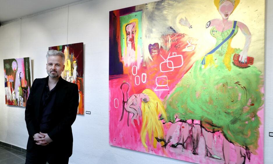 ENORM ETTERSPØRSEL: Etter at Ari Behn gikk bort første juledag har etterspørselen vært enorm rundt hans verk. Foto: NTB Scanpix