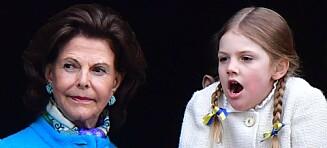 Prinsessas (7) kostholdsvalg overrasker dronninga