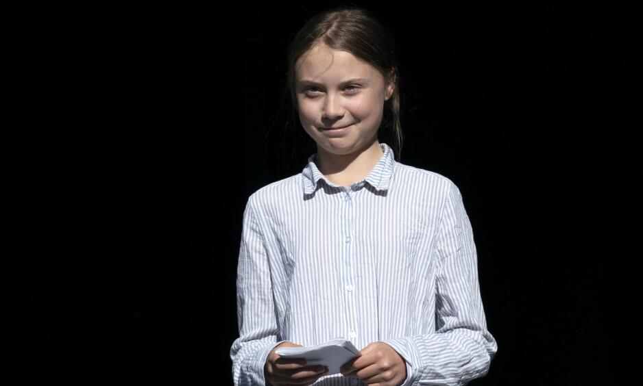 BEKYMRET: Svante Thunberg er bekymret for all hetsen dattera utsettes for. Foto: Paul Chiasson / PA Photos / NTB Scanpix