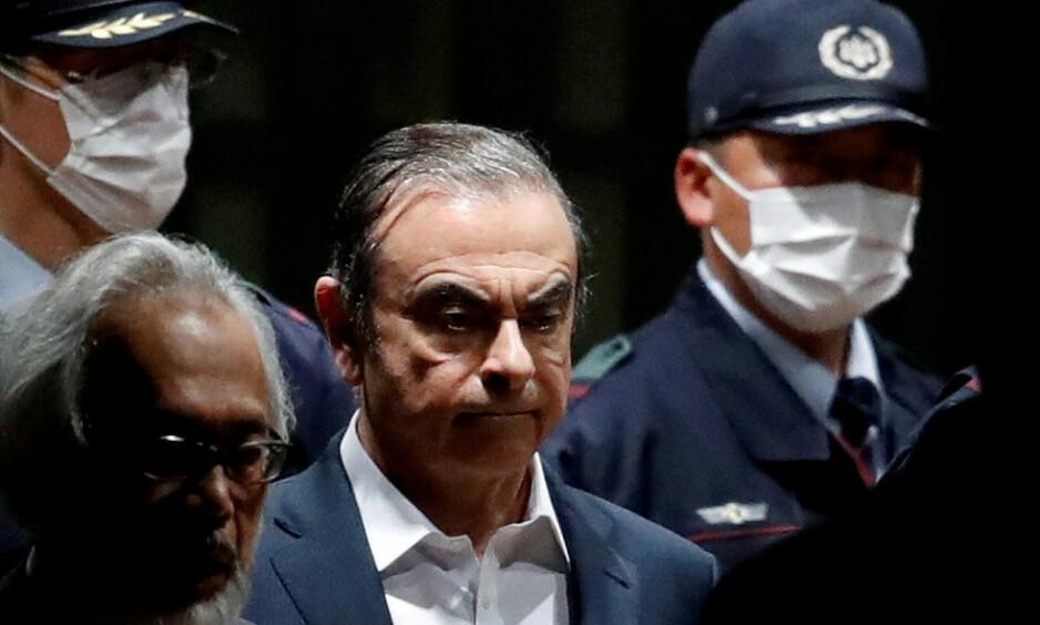 PÅ RØMMEN: Det er fremdeles en gåte hvordan industritopp Carlos Ghosn klarte å rømme Japan og straffeforfølgelse for økonomisk utroskap. Foto: Reuters/NTB Scanpix