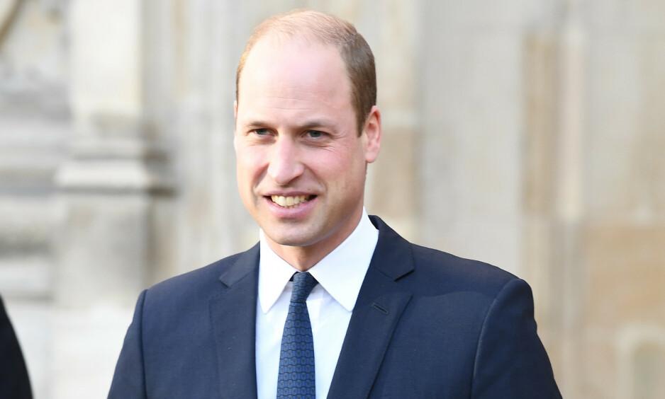 LANSERER MILJØPRIS: Prins William lanserte tirsdag et prosjekt som vil foregå over det neste tiåret. Foto: NTB scanpix