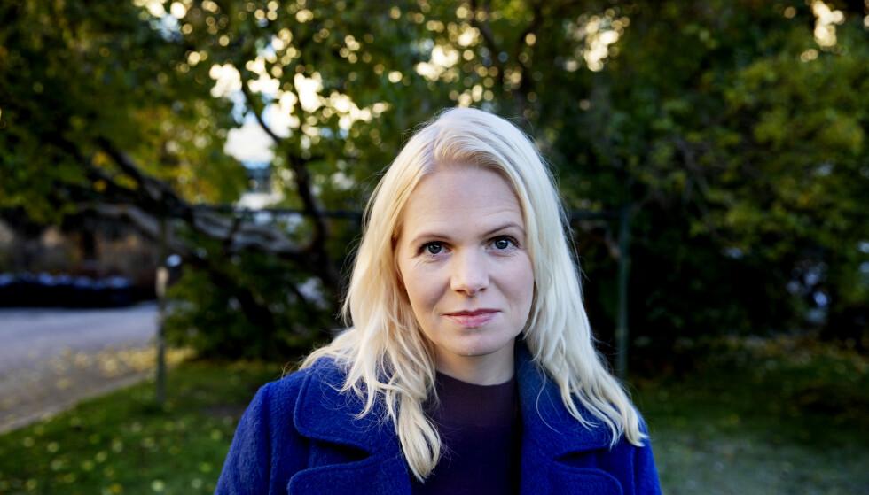 SAMARBEID: TV 2-profil og journalist Marte Spurkland har skrevet «Pappas runer» delvis basert på farens – runolog Terje Spurklands – upubliserte manuskript. Foto: Kristin Svorte
