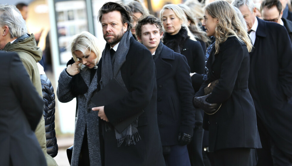 KOM SAMMEN: Kåre Conradi og Lene Marlin er i sorg over Ari Behns dødsfall. Foto: Christian Roth Christensen.