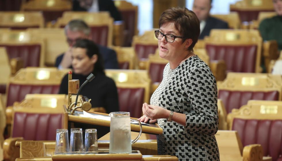 STATSRÅD?: Stortingsrepresentant Heidi Greni kan være Sp-kandidat til en statsrådspost i en rødgrønn regjering. Foto: Vidar Ruud / NTB