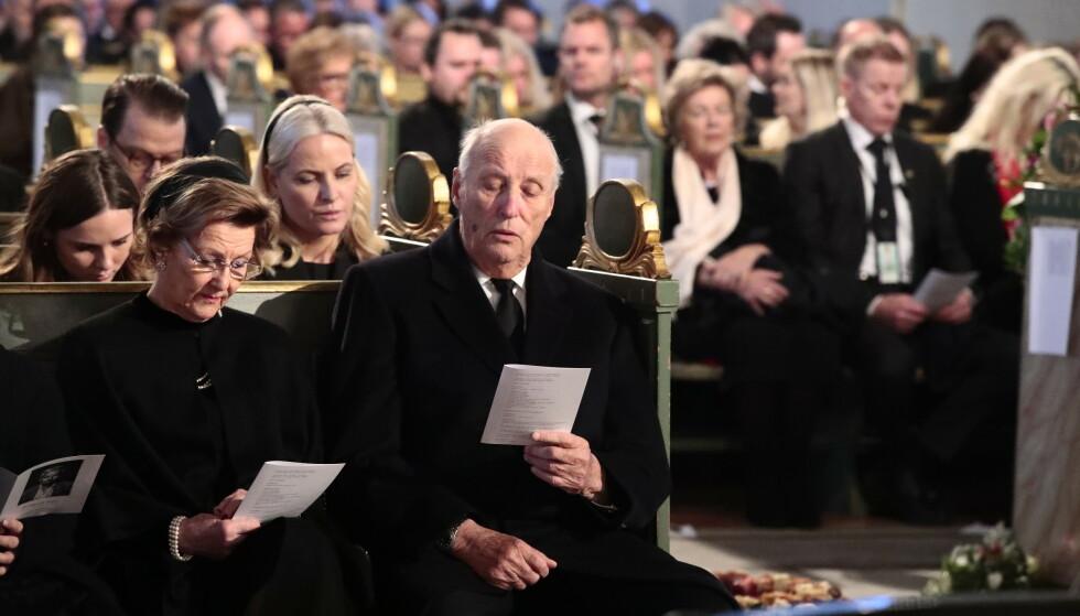 KONGEPARET: Dronning Sonja og kong Harald. Foto: NTB scanpix