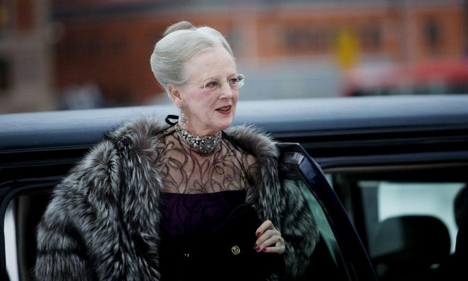 INNBRUDD: Natt til fredag var det innbrudd ved dronning Margrethes residens i Aarhus, Marselisborg Slot. Foto: NTB Scanpix