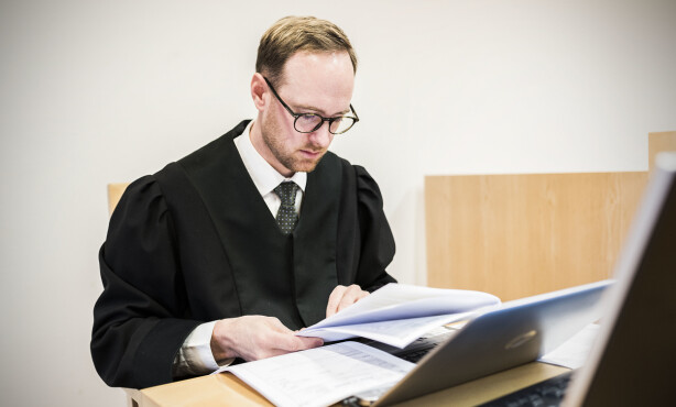 AKTOR: Politiadvokat Philip M. Green fører saken for påtalemakten. Foto: Ralf Lofstad / Dagbladet
