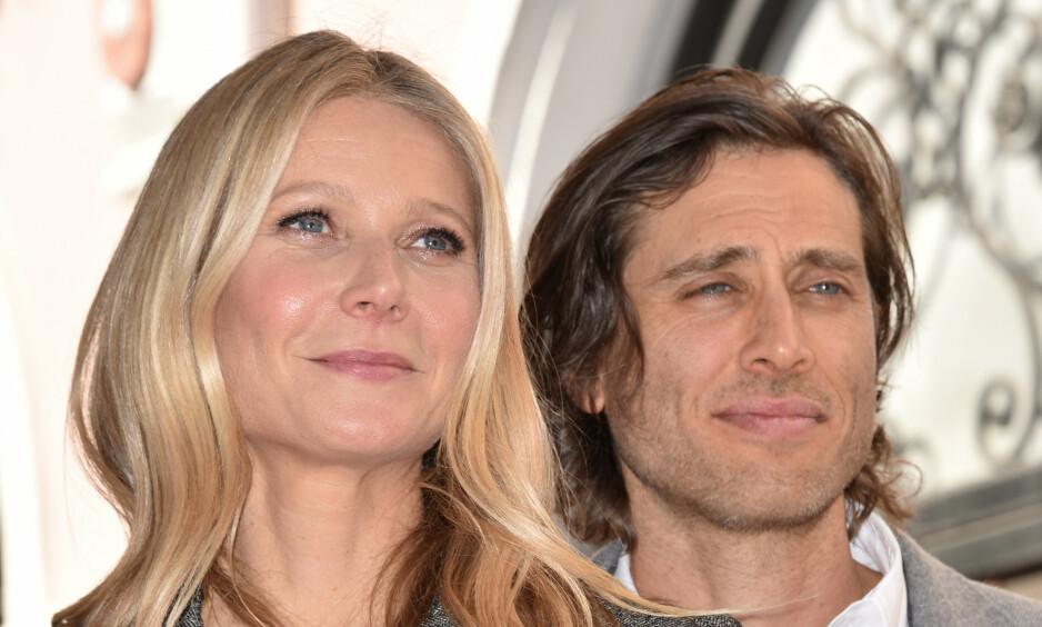 UTRADISJONELT: I et nytt intervju forteller Hollywood-stjerna Gwyneth Paltrow (47) hvorfor hun og ektemannen, Ben Falchuk (48), lot tida vente på seg før de valgte å flytte sammen. Foto: NTB Scanpix