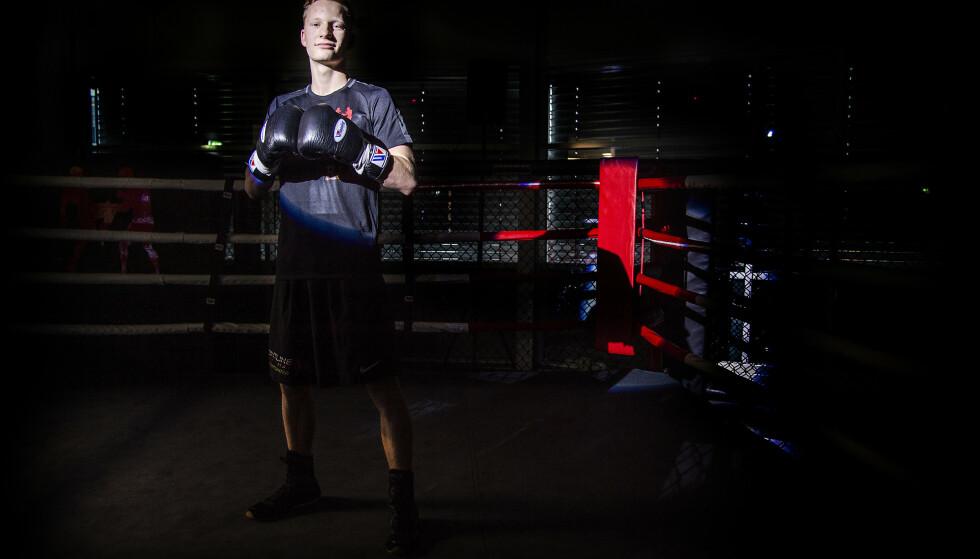 OL-HÅP: Martin Skogheim anses som det største boksetalentet i Norge på lang tid. Han er håpet 95 år etter Norges eneste OL-gull. Foto: Hans Arne Vedlog
