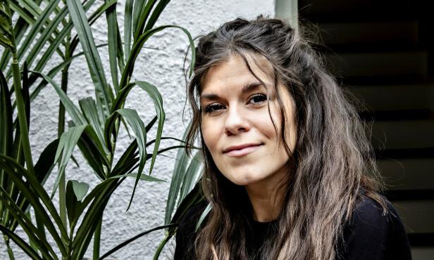 SJOKKERT: Kristin Gjelsvik forteller at hun synes det er trist og skremmende å se Laursens kirurgi-markedsføring. Foto: Nina Hansen / Dagbladet