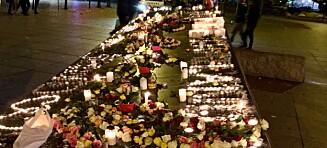 Tente lys for brannofrene i Bergen