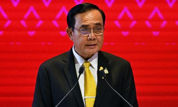 MØTER MOTBØR: Thailands statsminister Prayuth Chan-ocha. Her avbildet i Bangkok i november. Foto: NTB scanpix