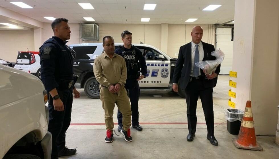 PÅ RØMMEN: Jose Sifuentes var på rømmen i over 16 år før han ble pågrepet i Mexico. Nå er han utlevert til USA. Foto: Politiet i Dallas