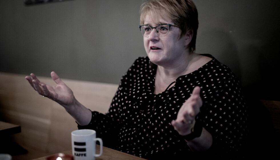 FORNØYD MED SEIER: Trine Skei Grande mener Venstres gjennomslag i den nye rusreformen er grunn god nok til å sitte i regjering med Frp. Foto: Bjørn Langsem / Dagbladet