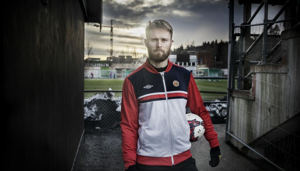 FORSVANT FRA FOTBALLEN: Han hadde fast plass på Lillestrøms lag i Eliteserien og alt virket lovende. Hva var det som skjedde da han plutselig forsvant?