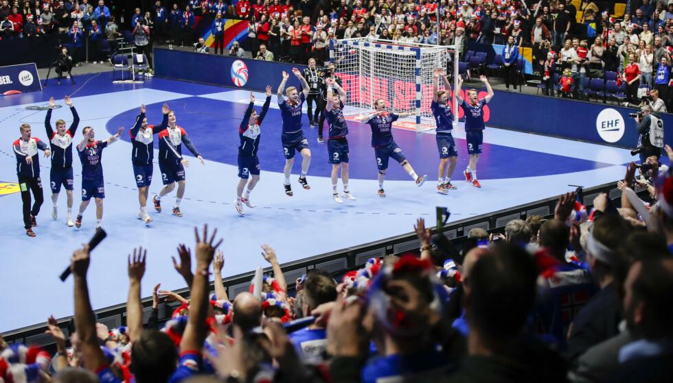 JUBEL: Norge leverte igjen. Foto: Vidar Ruud / NTB scanpix