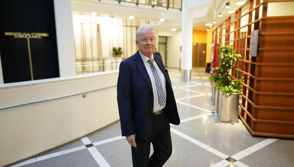 FLERE VIL KOMME: Frp-nestor Carl I. Hagen mener regjeringens beslutning åpner for at flere «IS-terrorister», som han sier, kan komme til Norge. Foto: John-Terje Pedersen /Dagbladet