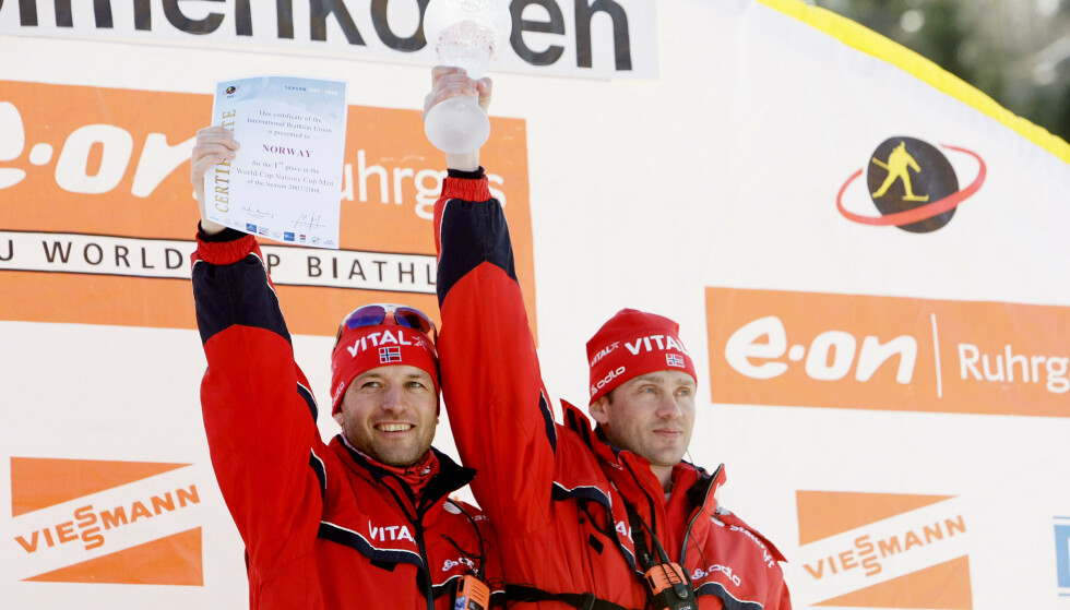 TIDLIGERE LANDSLAGSTRENER: Kjell Ove Oftedal var fra 2006 til 2008 landslagstrener for det norske herrelaget i skiskyting. FOTO: NTB/Scanpix