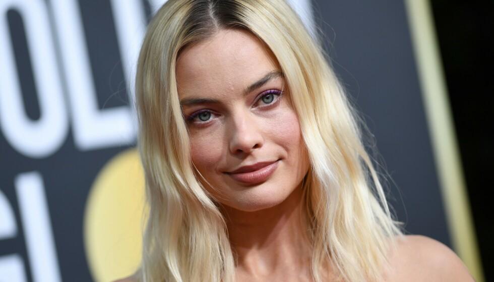 VEKKER REAKSJONER: Skuespiller Margot Robbie skaper overskrifter med sine uttalelser om sexisme. Foto: NTB Scanpix