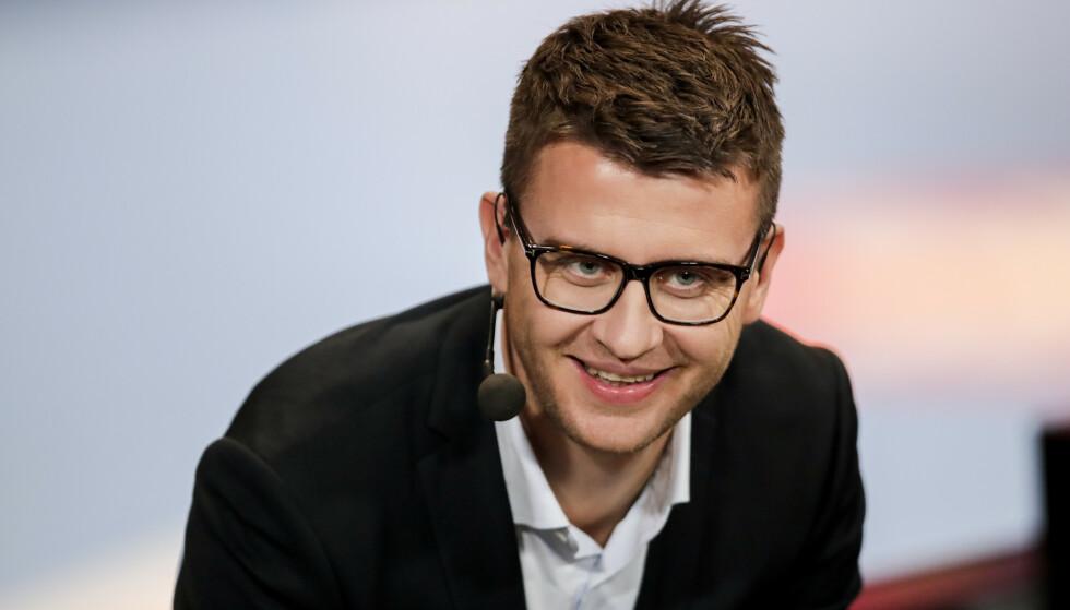 EKSPERT: Ole Erevik er tidligere landslagsspiller og jobber som håndballekspert i Viasat. Foto: NTB scanpix