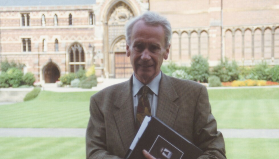 DØD: Sønnen til J. R. R. Tolkien, Christopher Tolkien, har gått bort. Foto: The Tolkien Society