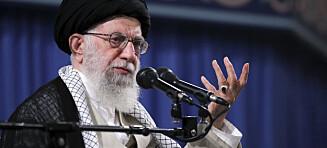 Irans leder kaller Trump «klovn»