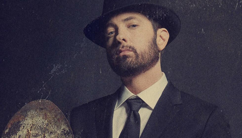 PÅ TYNN IS: Eminems ellevte studioalbum viser hvorfor skills ikke er viktigere enn gode låter. Foto: Universal Music