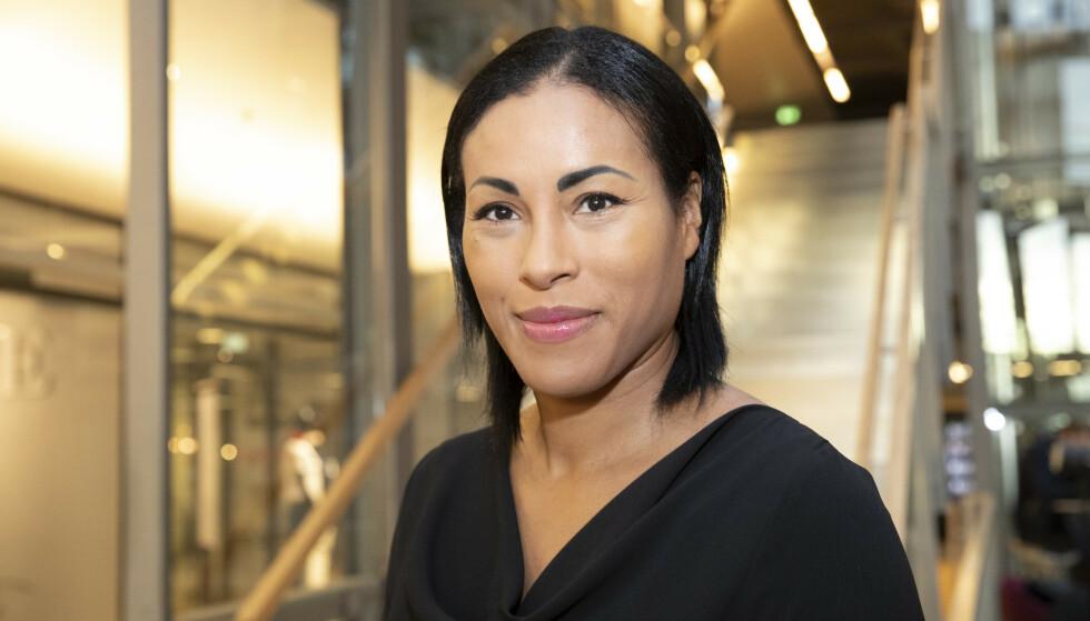 TREKKER SEG: Cecilia Brækhus trekker seg fra vervet som juryleder for «Brobyggerprisen». Foto: Terje Bendiksby / NTB