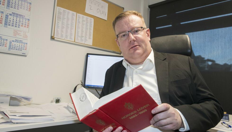 REGJERINGSOPPNEVNT: Olav Lægreid er regjeringens oppnemte koordinator for rettshjelp til NAV-ofrene. Foto: Terje Pedersen / NTB scanpix