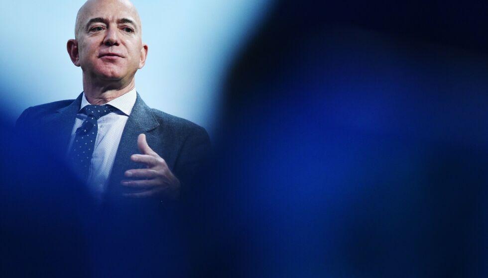 HACKET: Washington Post-eier Jeff Bezos. Foto: MANDEL NGAN / AFP