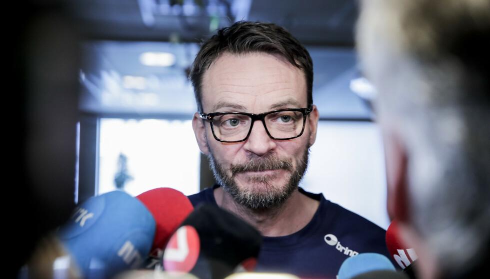 TRENER: Christian Berge ønsker å stille best mulig forberedt til semifinale - samme hvem som er motstander. Foto: NTB scanpix