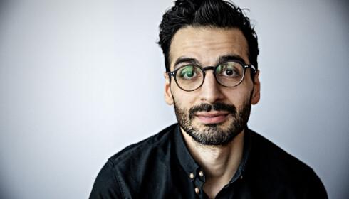 Kaveh Rashidi, lege og forfatter. Foto: Nina Hansen/Dagbladet