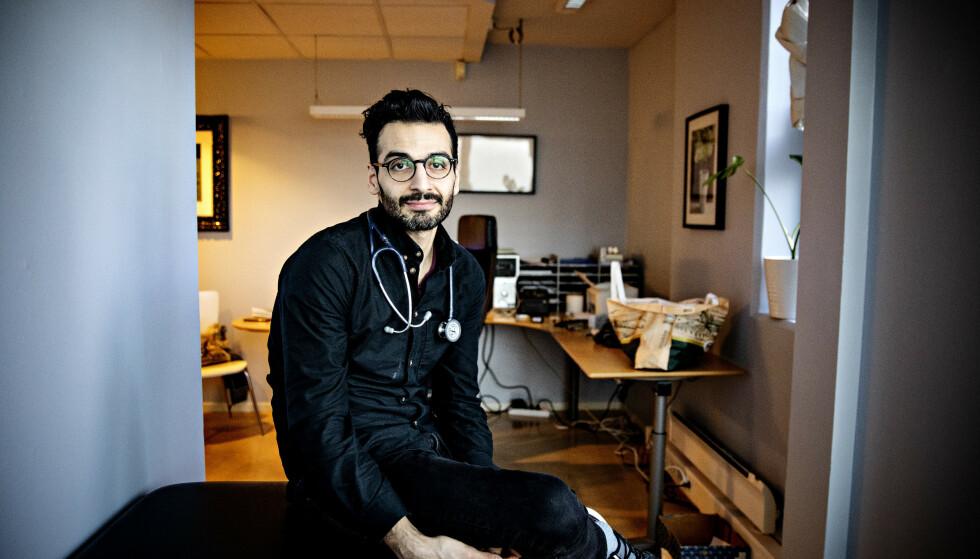UFLAKS: Flaks og uflaks er en viktig forklaring på hvorfor noen blir syke, mens andre holder seg friske, mener lege og forfatter Kaveh Rashidi. Men det finnes noen enkle helseråd alle bør følge.