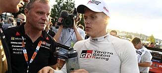 Stygg krasj i Rally Monte-Carlo