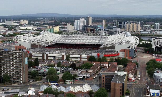 RUVER: Old Trafford markerer seg i Manchester-bildet. Foto: NTB scanpix