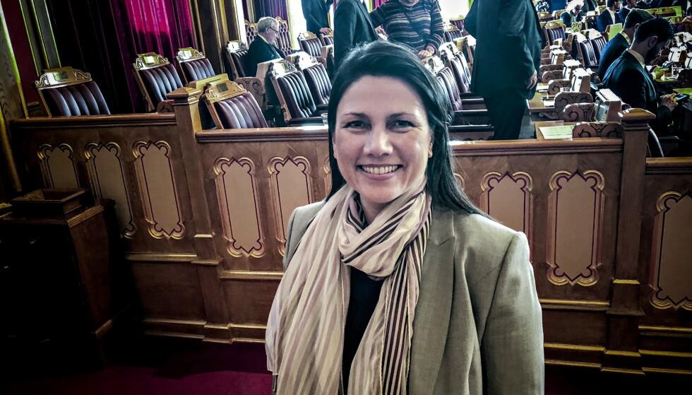 SVARER: Heidi Nordby Lunde, leder i Oslo Høyre. Foto: Gunnar Ringheim / Dagbladet
