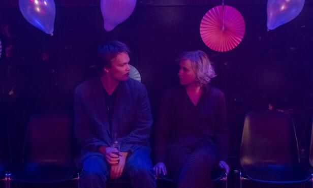FRA NRK TIL NETFLIX: Emma Bones, kjent fra NRK-serien «Heimebane», i en scene fra «Ragnarok». Foto: Netflix
