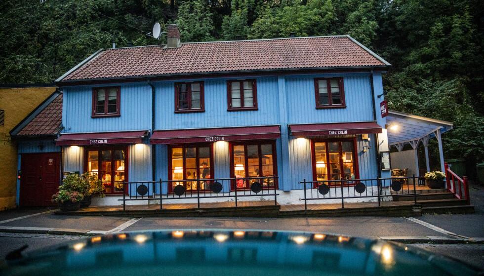 FRANKOFILT: Chez Colin serverer klassisk fransk mat og gjøre det med stil og stolthet. Det kan se ut som restauranten ligger i en hvilken som helst norsk småby, men den ligger altså i tjukkeste Oslo, et steinkast fra regjeringskvartalet.
