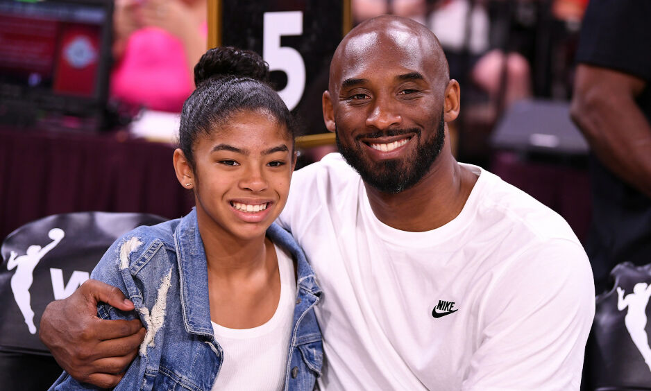 OMKOM: Både Kobe Bryant og hans datter Gianna mistet livet i helikopterstyrt. Foto: Stephen R. Sylvanie-USA TODAY Sports / File Photo / NTB Scanpix