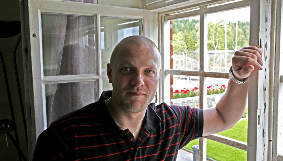 I FENGSEL: Viggo Kristiansen avbildet i Ila fengsel i 2008. Foto: Eivind Pedersen / Dagbladet