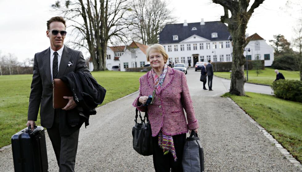 PÅ TOPPMØTE: Dagens politikere må vise politisk lederskap i klimasprsmålet, er budskapet fra Gro Harlem Brundtland. Foto: Kristian Ridder-Nilsen