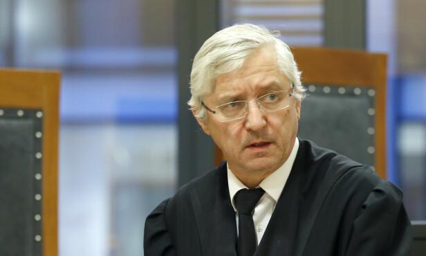 FORSVARER: Arvid Sjødin avbildet i retten i 2015. Foto: Terje Pedersen / NTB scanpix