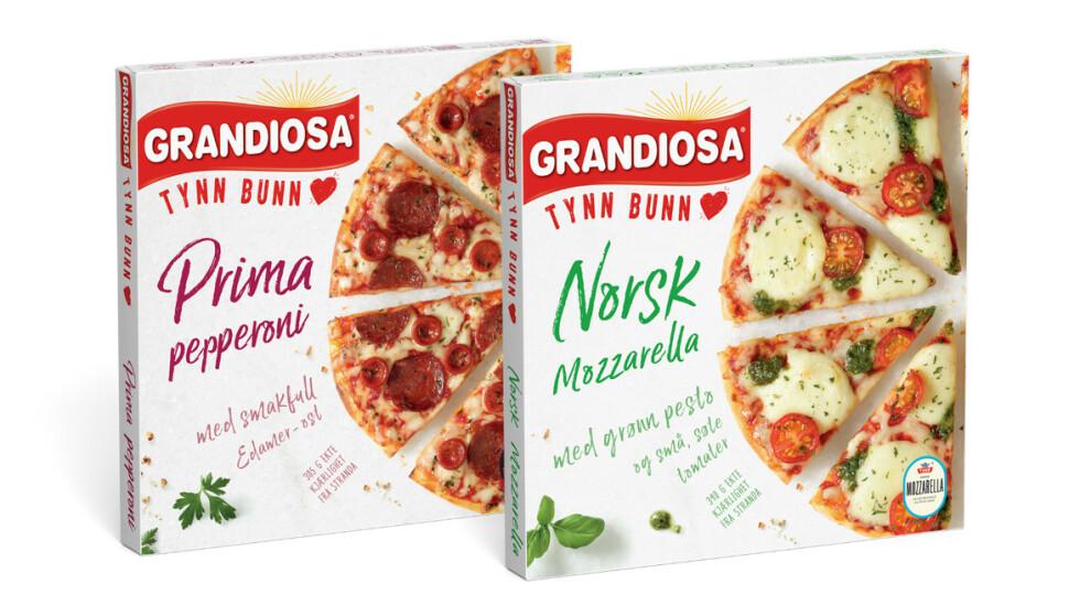 MATNYTT: Grandiosa fyller 40 og feirer med en nylansering i en tynnere utgave. Foto: Orkla Foods